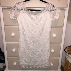 21837477383d Women Divided Lace Dress on Poshmark